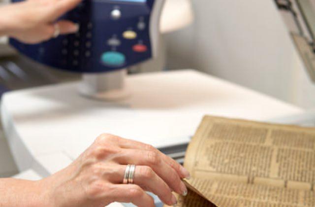 Alte Bestände digitalisieren